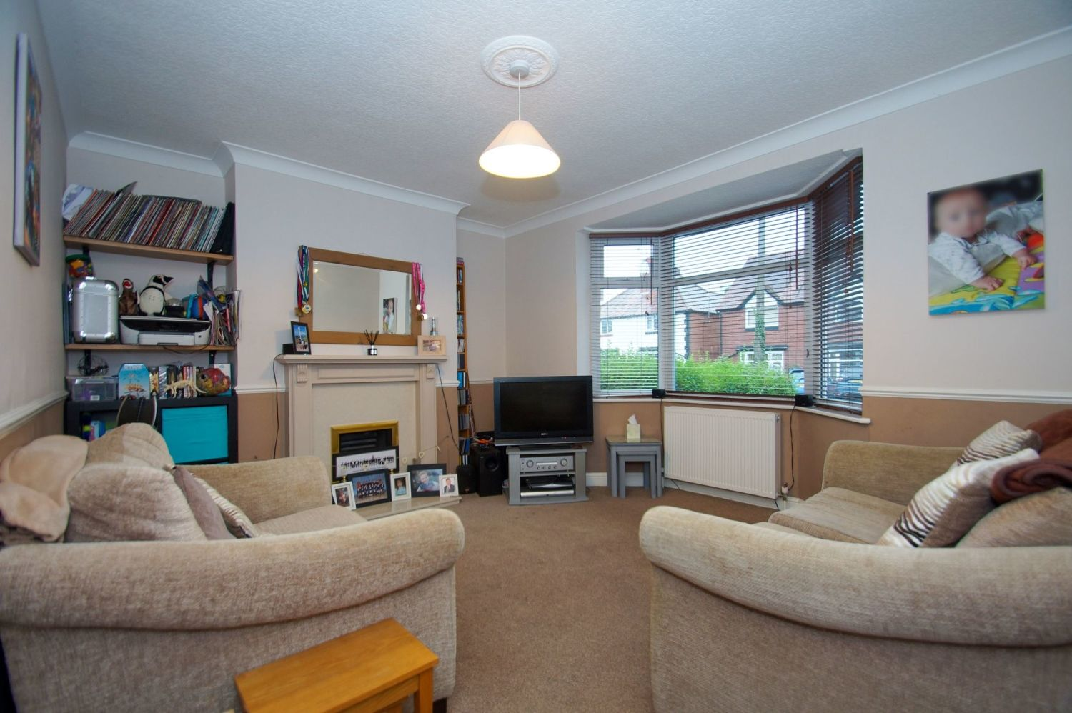2 bed semi-detached for sale in The Meadway, Headless Cross  - Property Image 2
