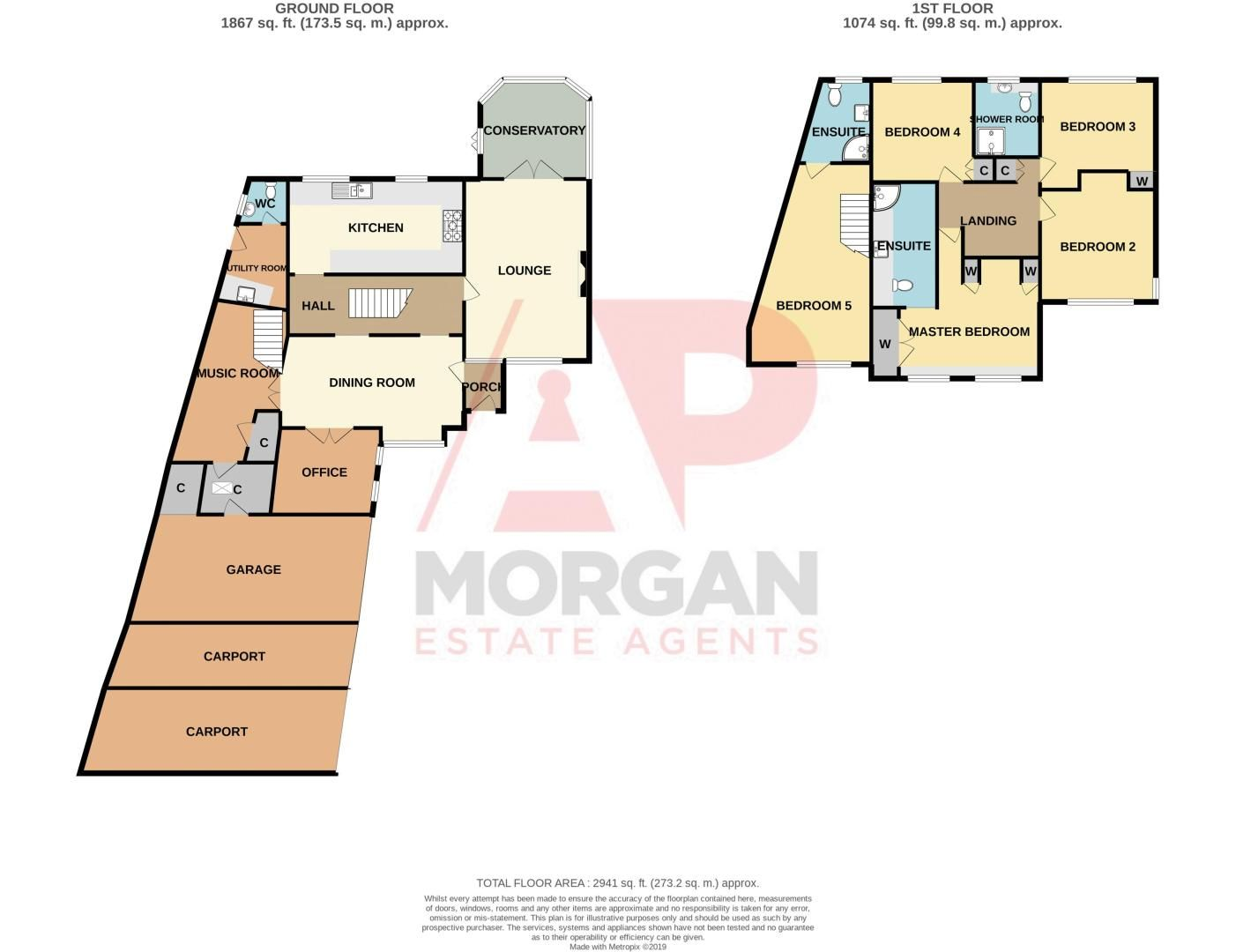 5 bed house for sale in Redditch Road - Property Floorplan