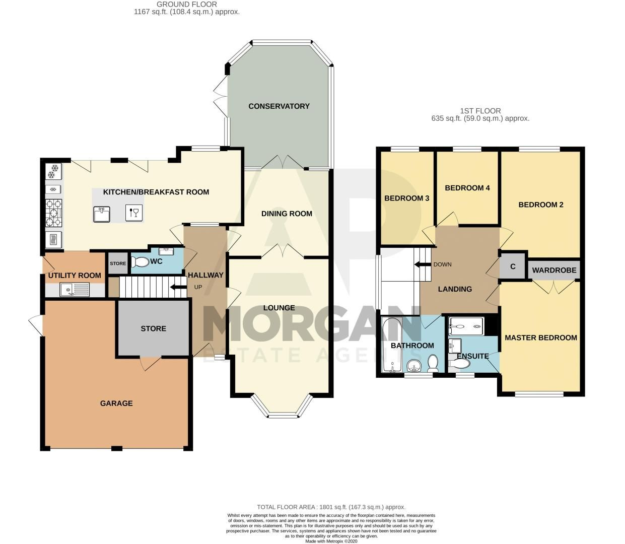 4 bed house for sale in Kentmere Road - Property Floorplan