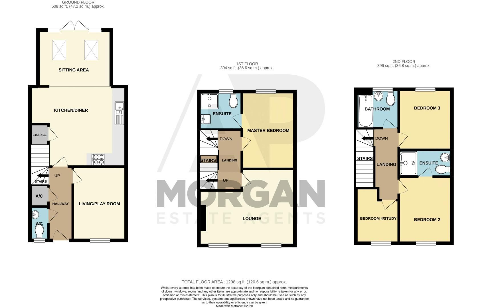 5 bed house for sale in Hedgerow Close - Property Floorplan