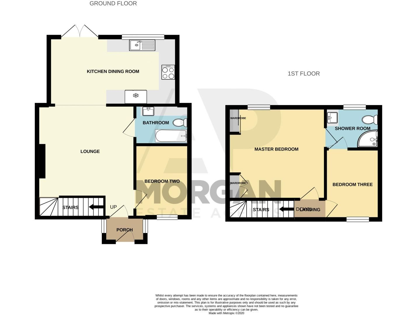 3 bed cottage for sale in Worcester Road - Property Floorplan