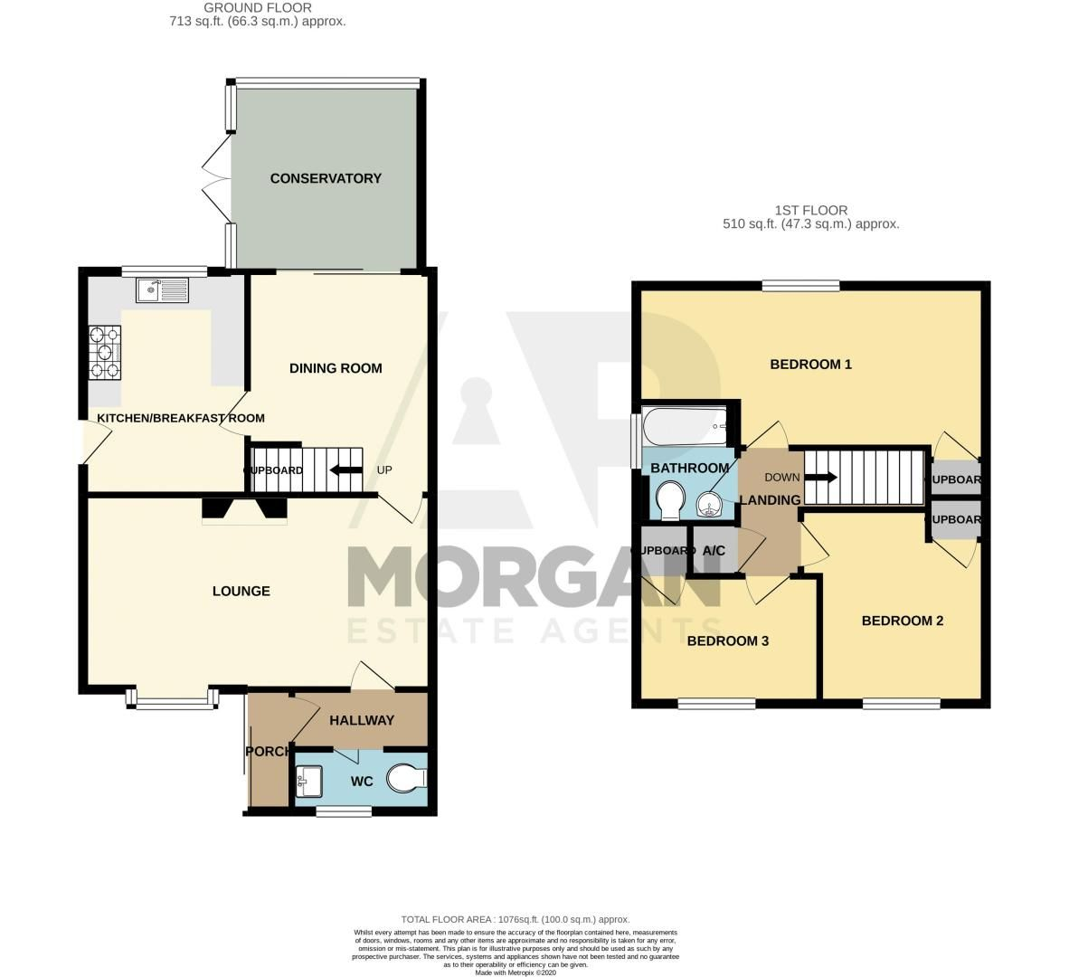 3 bed house for sale in Gilbertstone Close - Property Floorplan