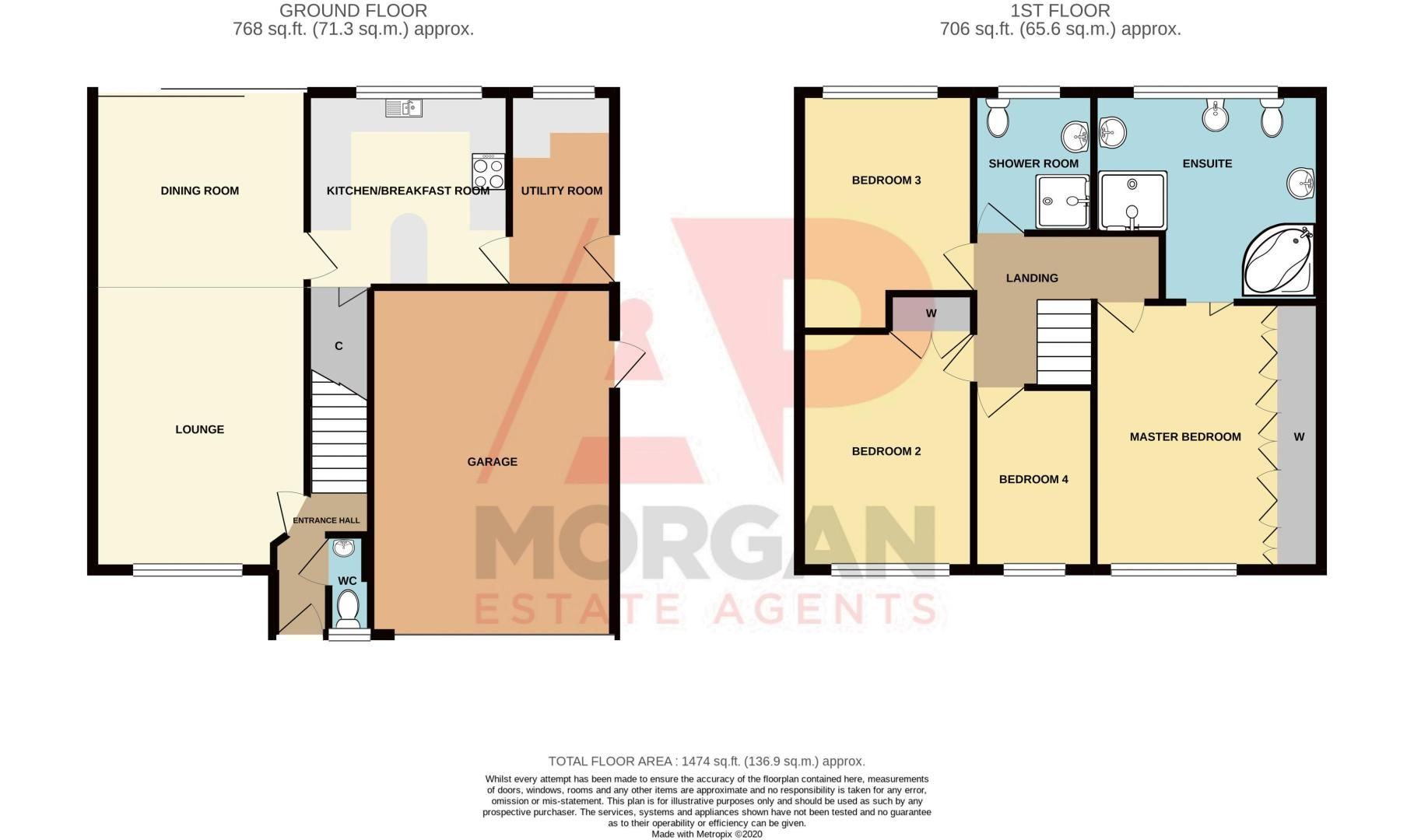 4 bed house for sale in Stanmore Grove - Property Floorplan