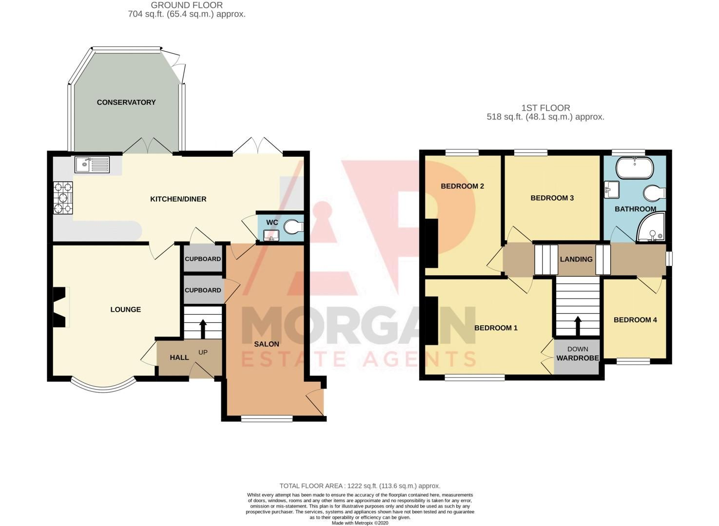 4 bed house for sale in Birmingham Road - Property Floorplan