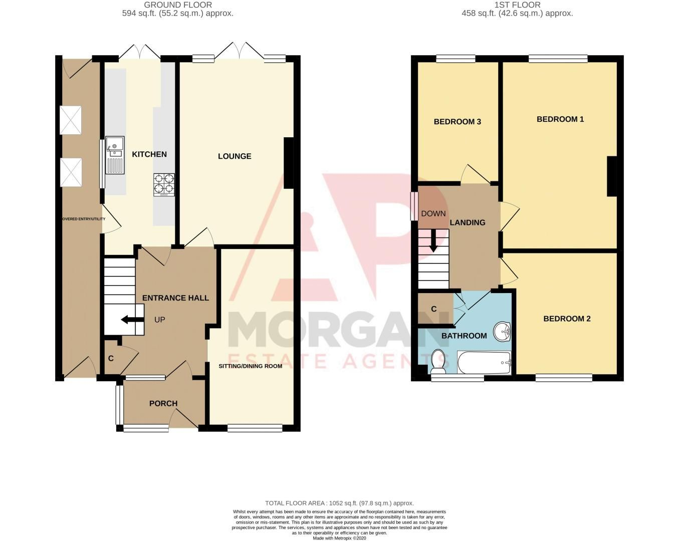 3 bed house for sale in Swift Close - Property Floorplan