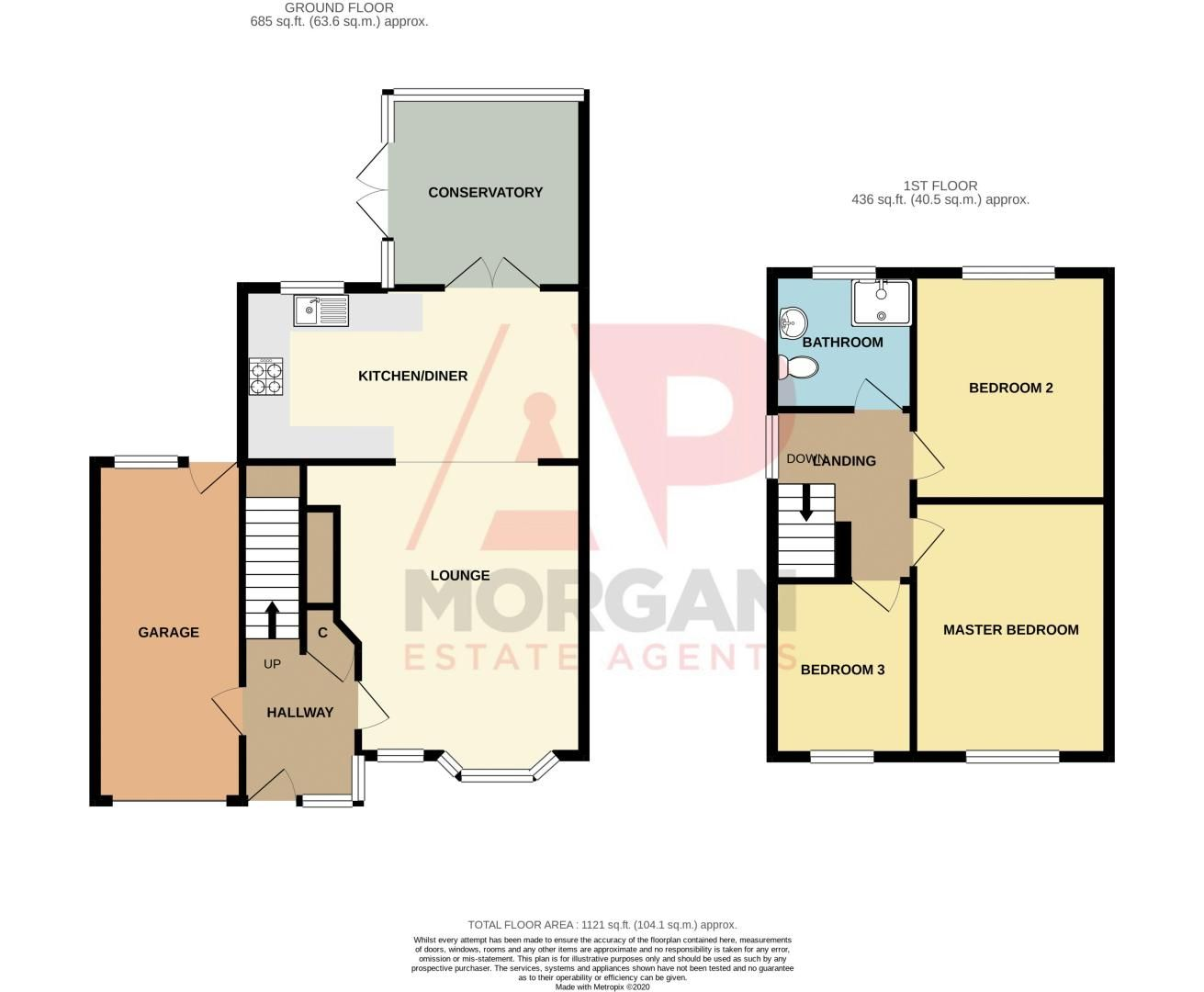 3 bed house for sale in Albury Road - Property Floorplan