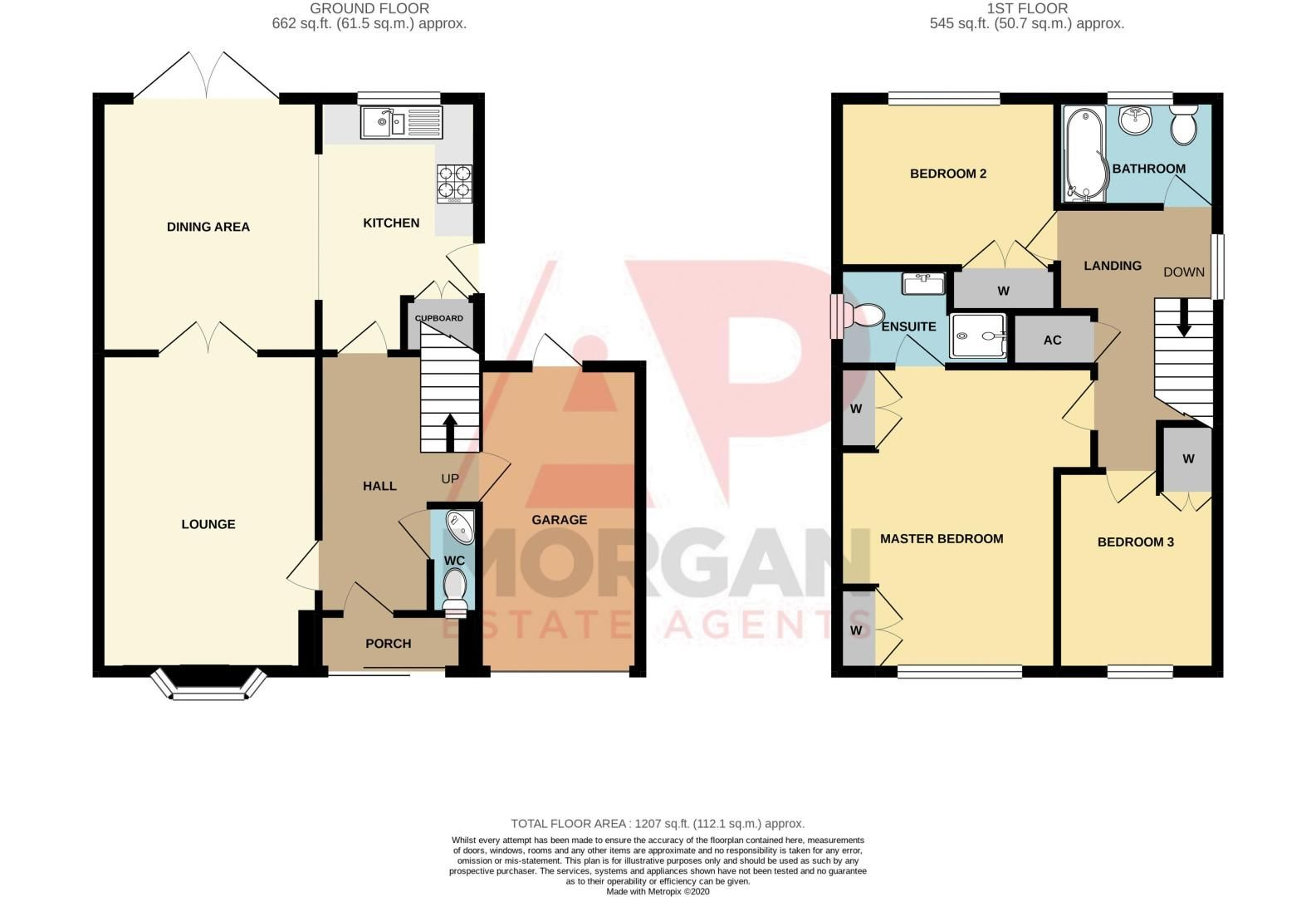3 bed house for sale in Woodbank Drive - Property Floorplan