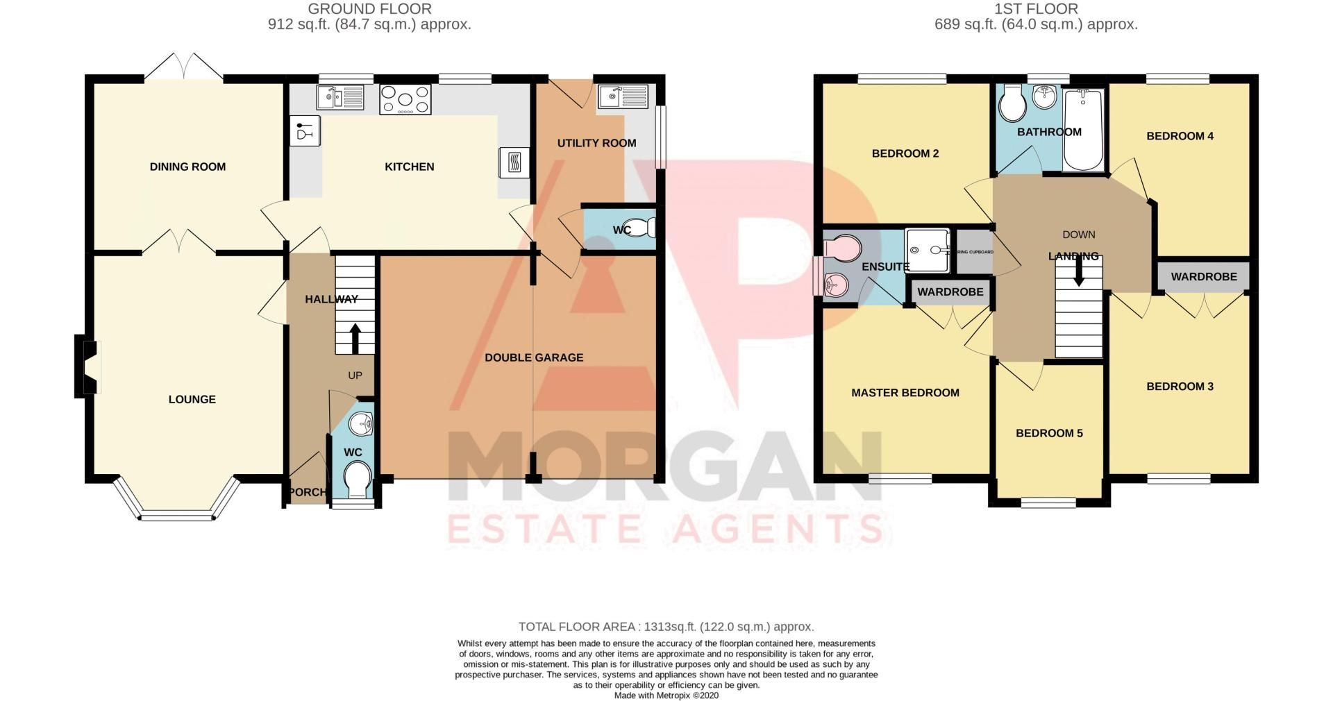 5 bed house for sale in Foxholes Lane - Property Floorplan
