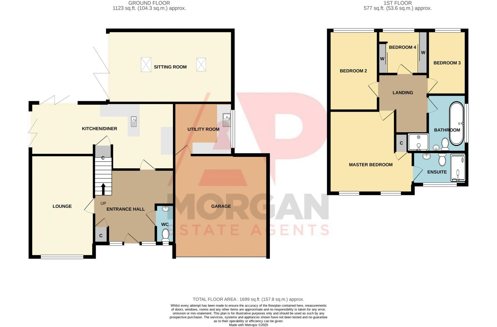 4 bed house for sale in Hyperion Road - Property Floorplan