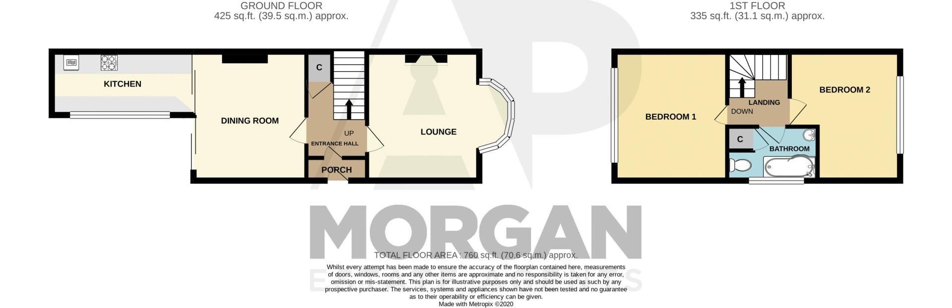 3 bed house for sale in Powke Lane - Property Floorplan