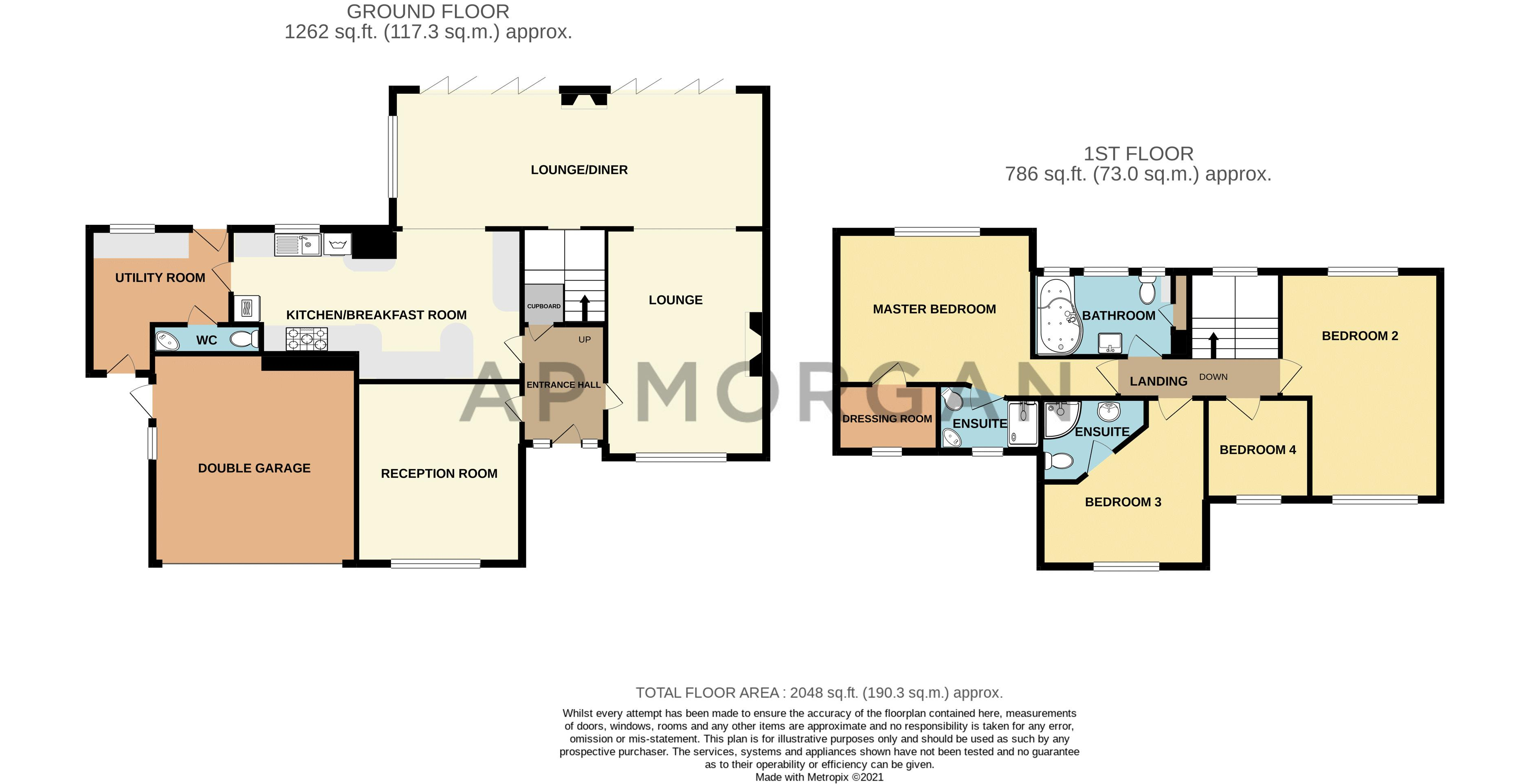 4 bed house for sale in Broughton Road - Property Floorplan
