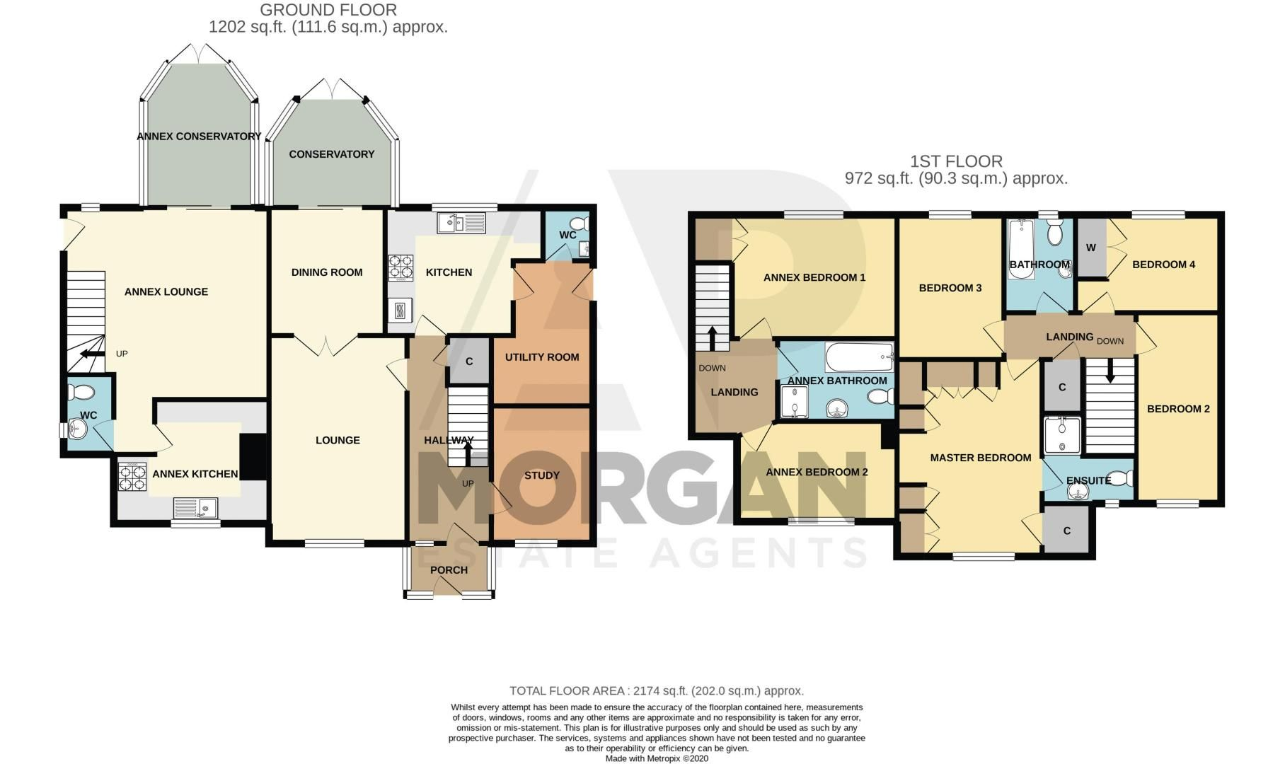 6 bed house for sale in Field Close - Property Floorplan