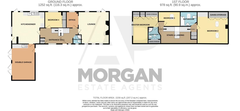 4 bed  for sale in Sugarbrook Lane - Property Floorplan