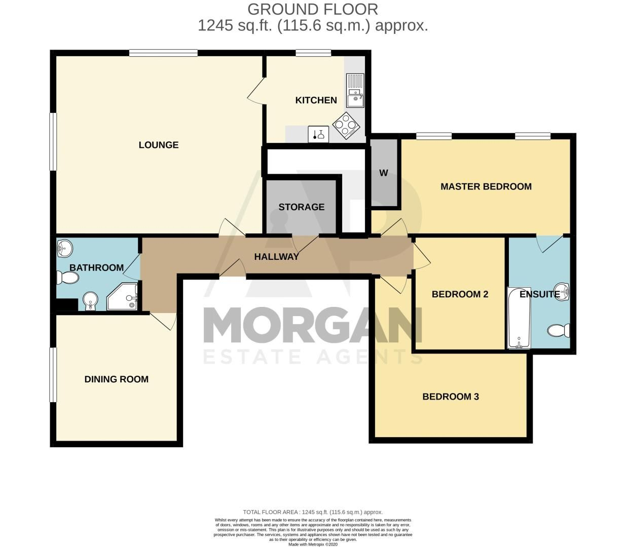 3 bed flat for sale in Icknield Street - Property Floorplan