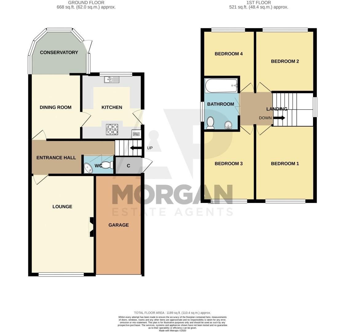4 bed house for sale in Broadway Avenue - Property Floorplan