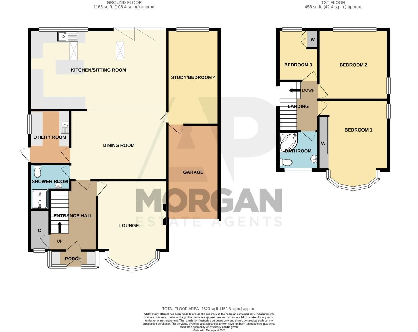 3 bed house for sale in Woodland Road - Property Floorplan