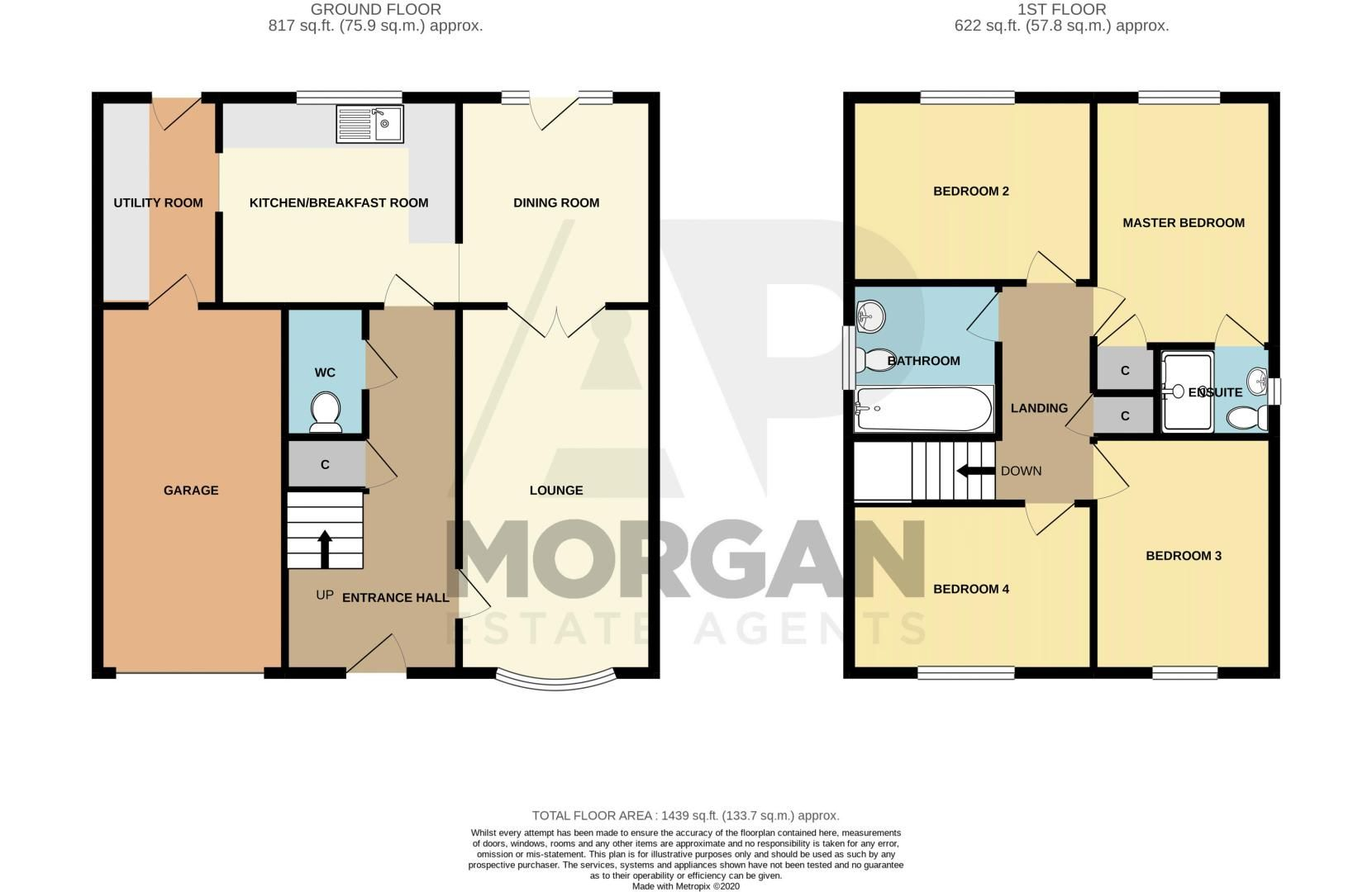 4 bed house for sale in Alcester Road - Property Floorplan