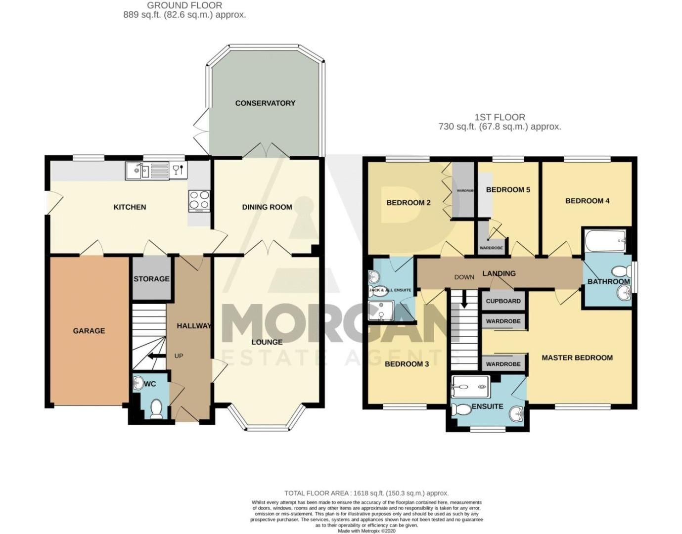 5 bed house for sale in Royal Worcester Crescent - Property Floorplan