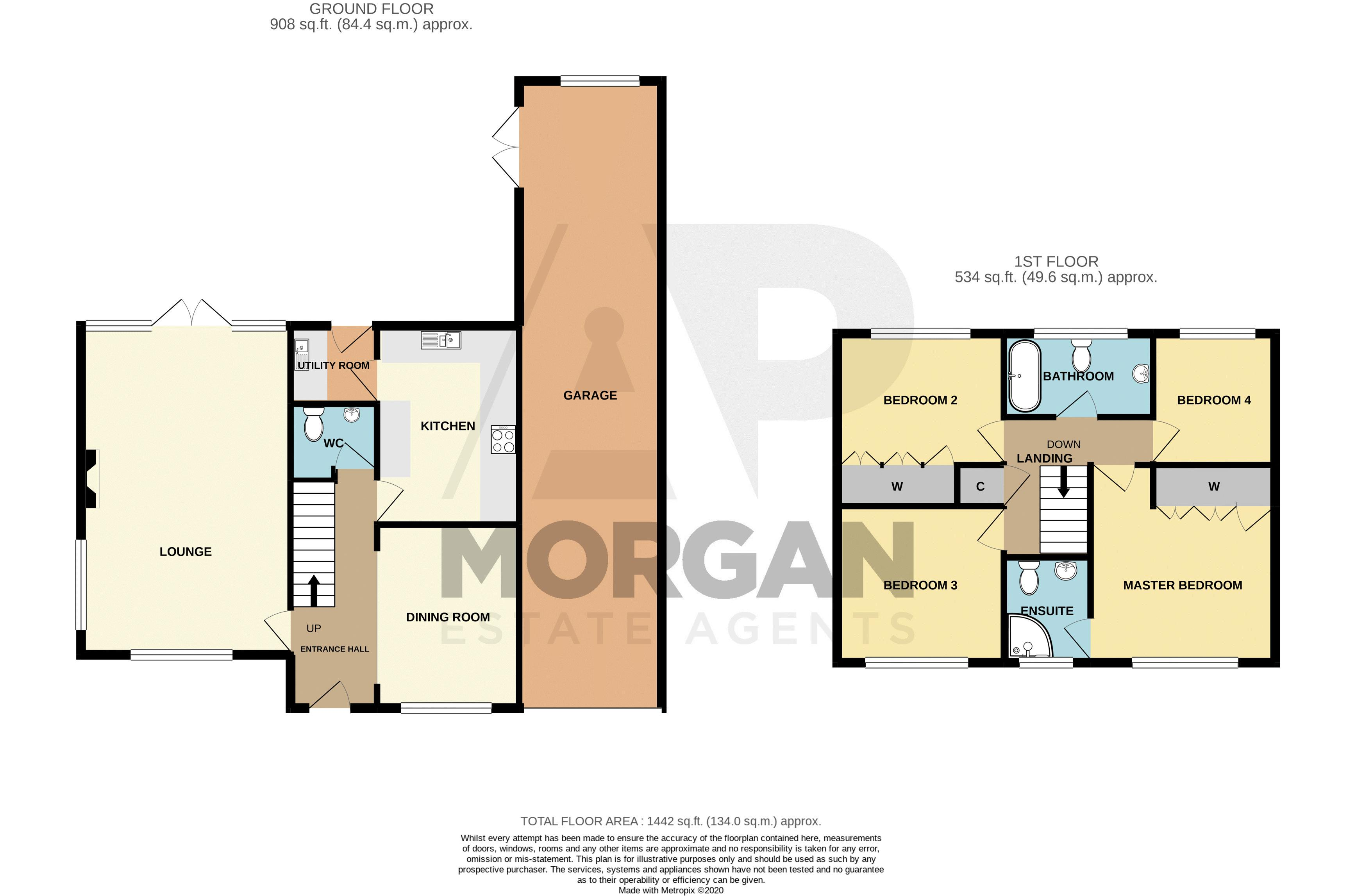 4 bed house for sale in Windermere Drive - Property Floorplan