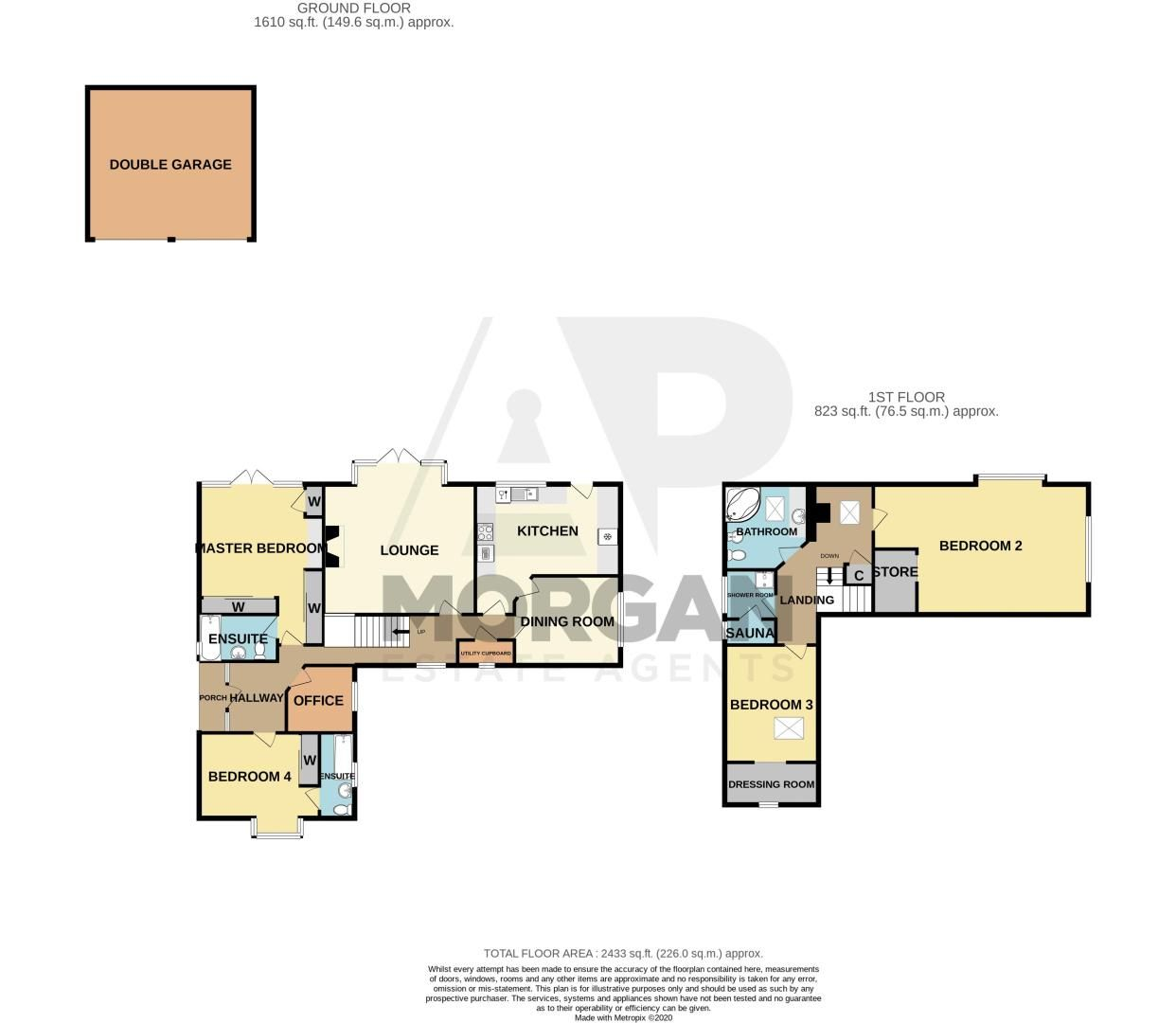 4 bed bungalow for sale in Redditch Road - Property Floorplan