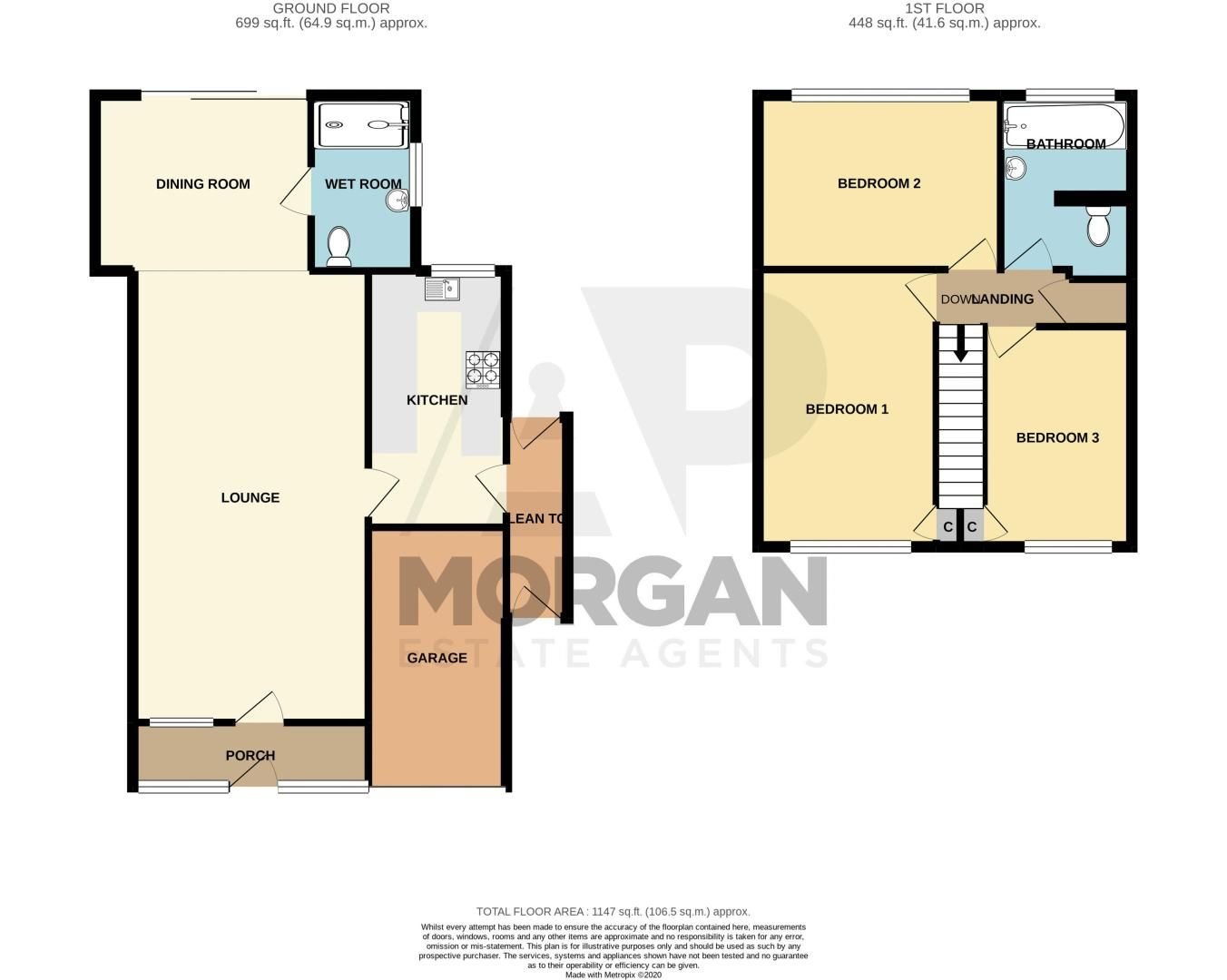 3 bed house for sale in Firth Park Crescent - Property Floorplan