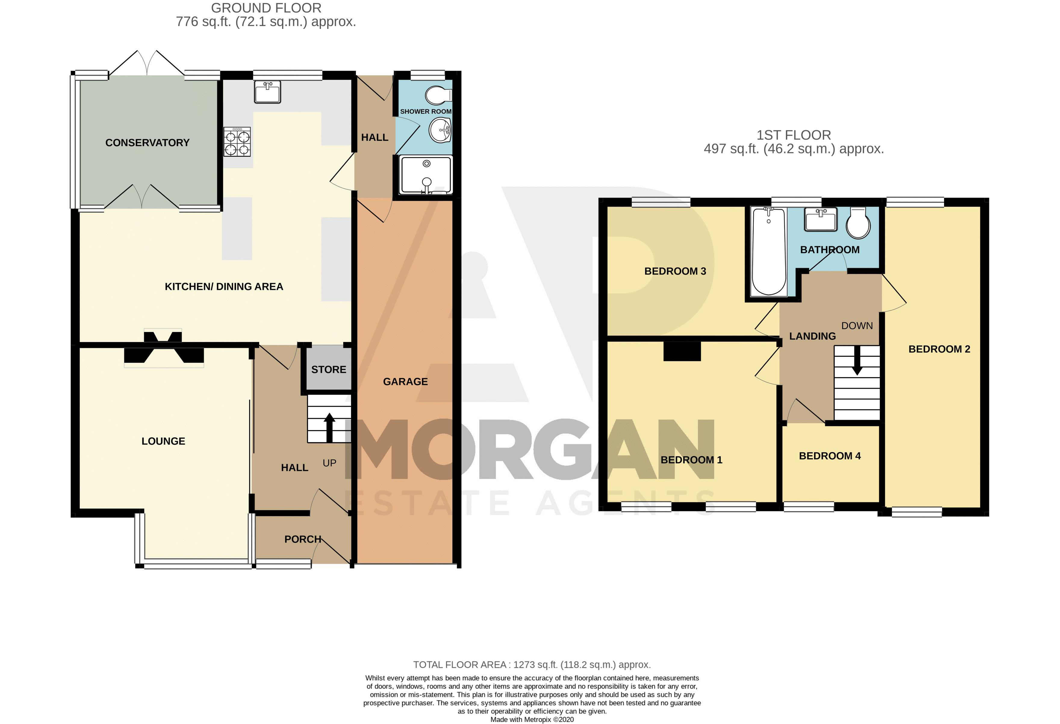 4 bed house for sale in Wheatcroft Close - Property Floorplan