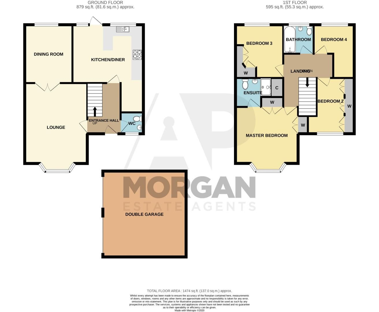 4 bed house for sale in Portway Road - Property Floorplan