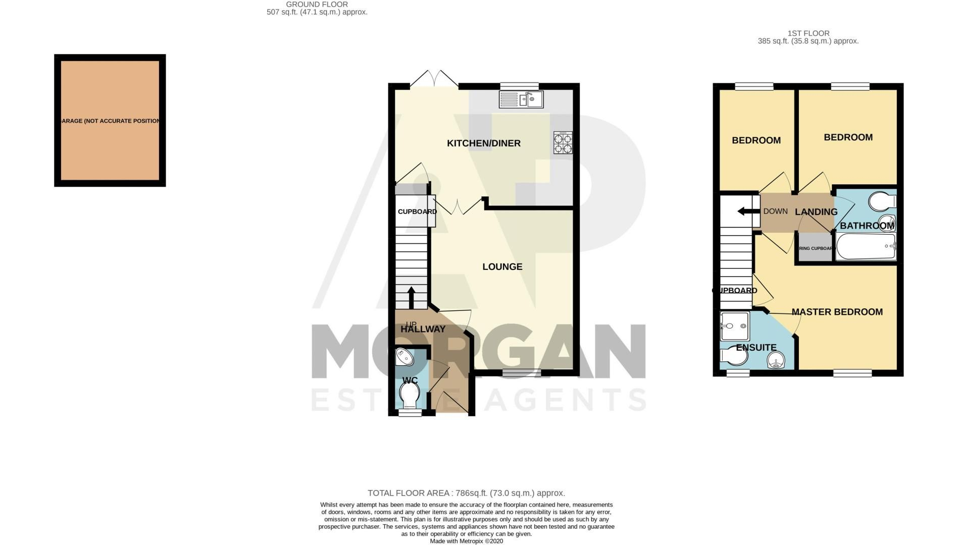 3 bed house for sale in Wheelers Lane - Property Floorplan