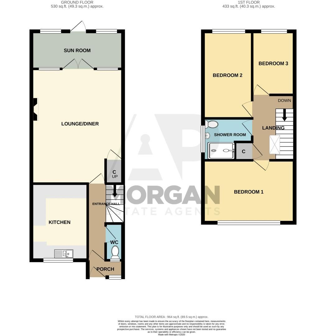 3 bed house for sale in Partridge Road - Property Floorplan