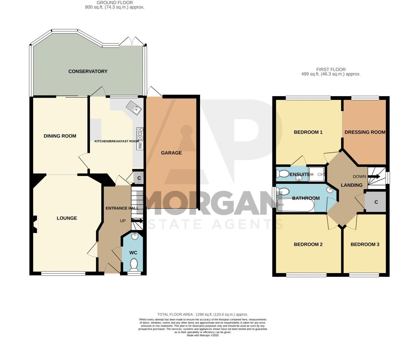 3 bed house for sale in Batchelor Close - Property Floorplan
