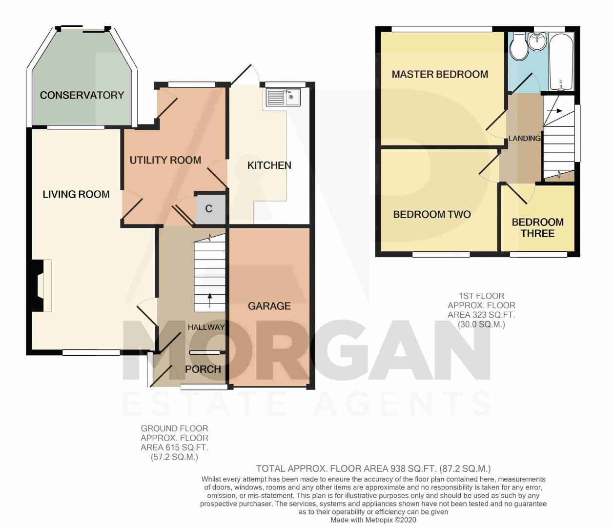 3 bed house for sale in Caynham Close - Property Floorplan