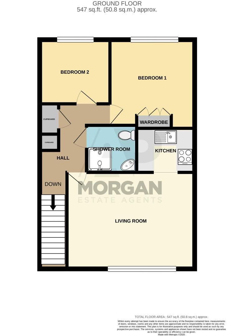 2 bed  for sale in Housman Park - Property Floorplan