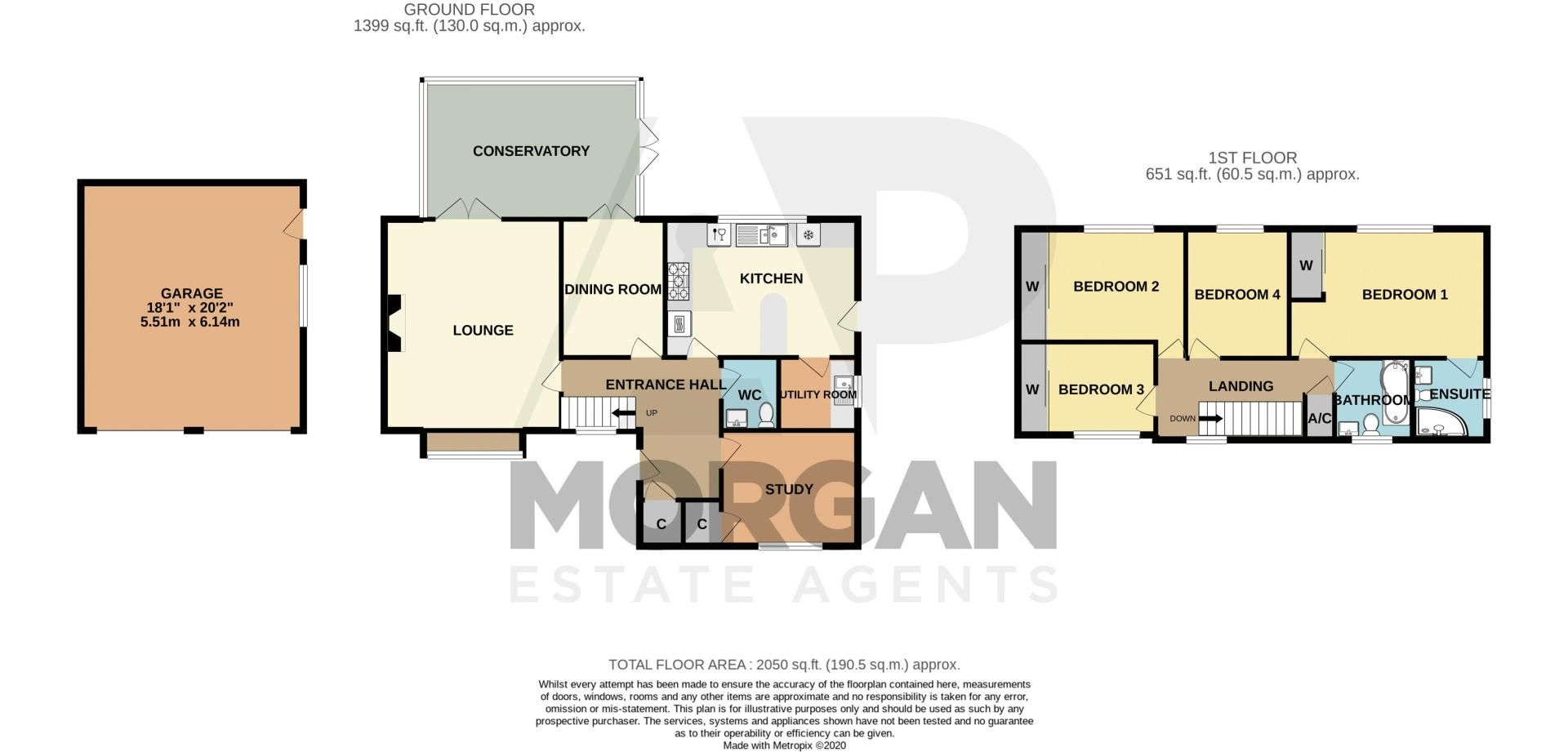 4 bed house for sale in Tanwood Close - Property Floorplan
