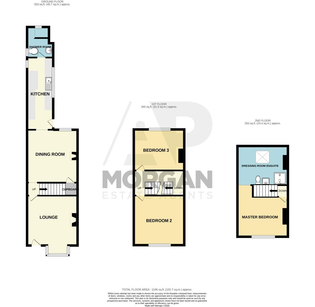 3 bed house for sale in Other Road - Property Floorplan