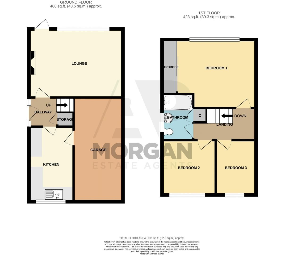 3 bed house for sale in Grampian Road - Property Floorplan