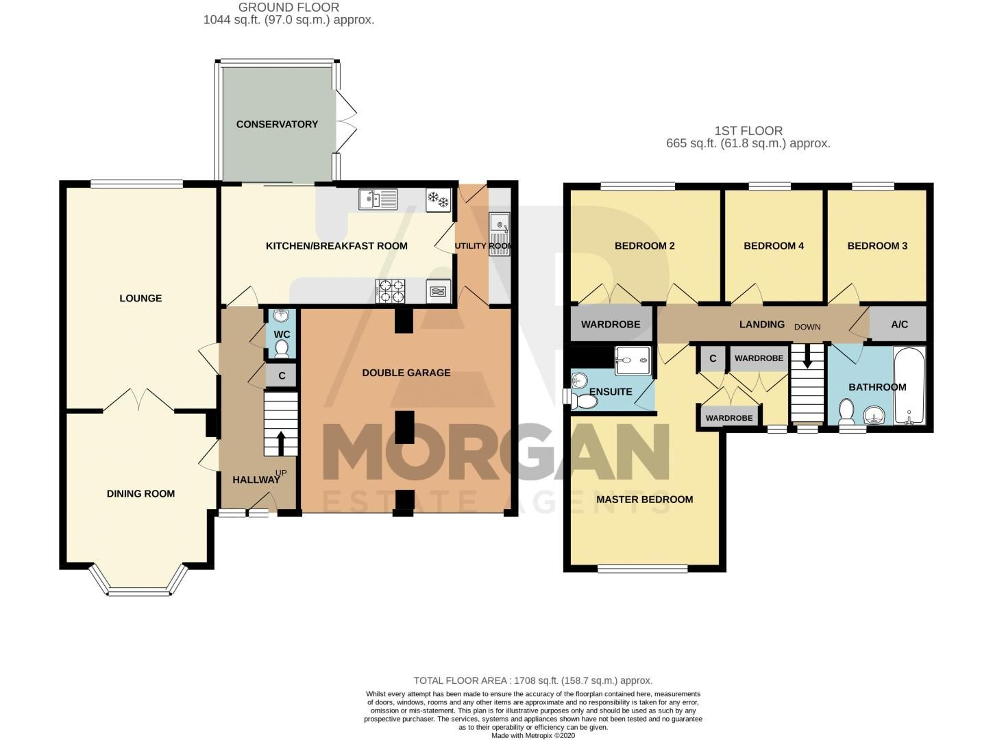 4 bed house for sale in Appletrees Crescent - Property Floorplan