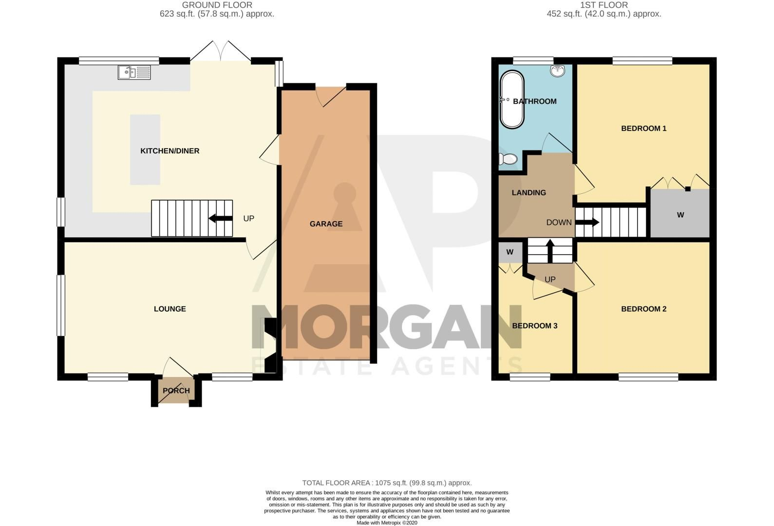 3 bed cottage for sale in Bromsgrove Road - Property Floorplan