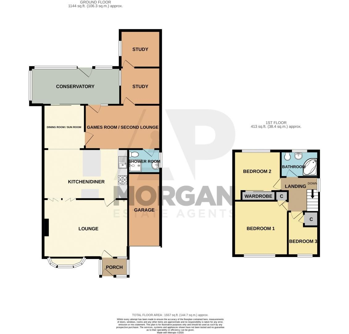 4 bed house for sale in Bodenham Close - Property Floorplan