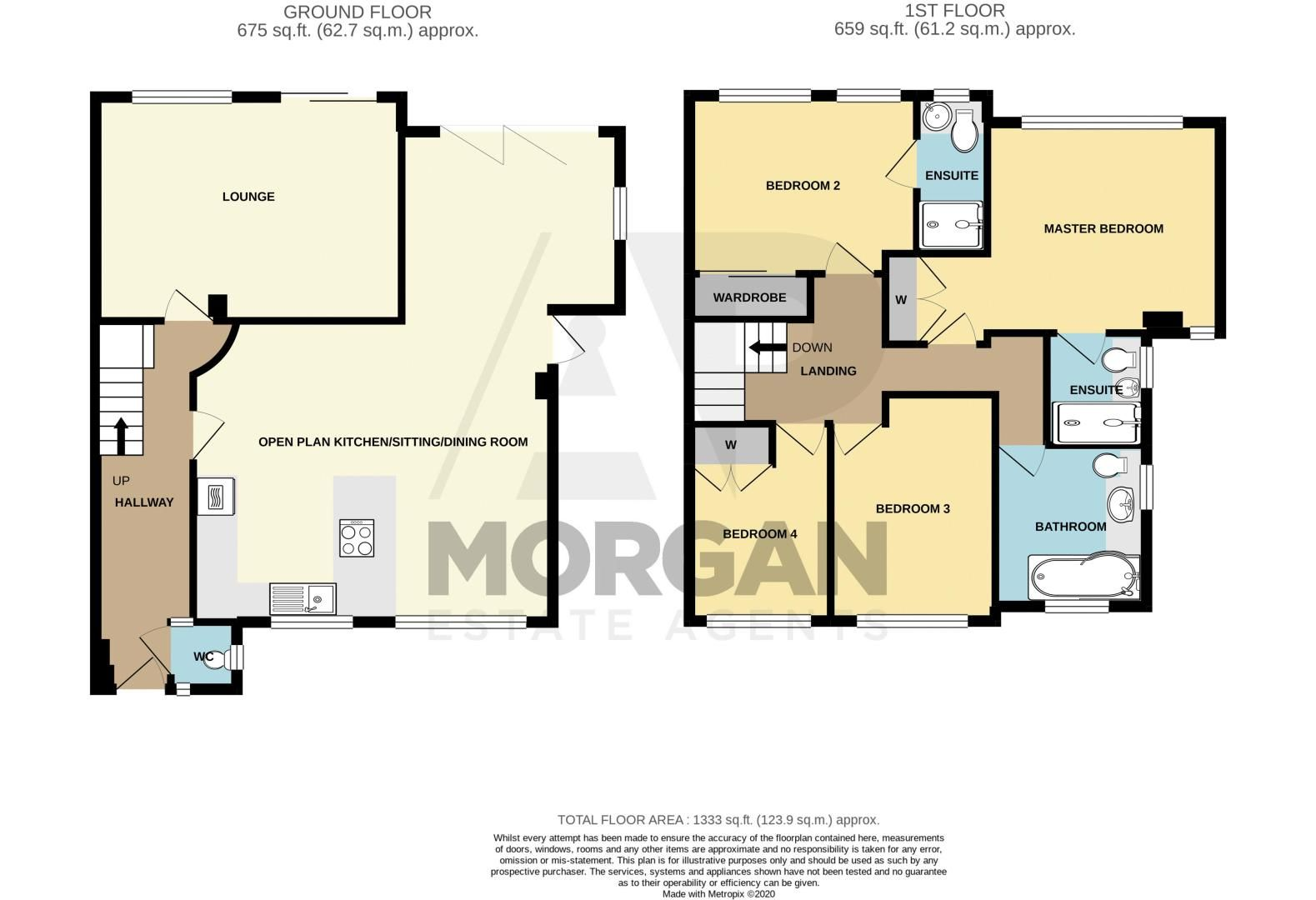 4 bed house for sale in Stonehouse Road - Property Floorplan