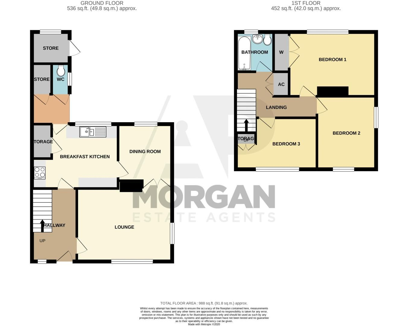 3 bed house for sale in Lilac Close - Property Floorplan