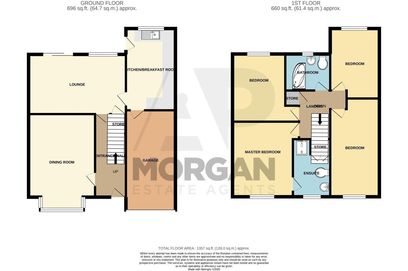 4 bed house for sale in Cumbrian Croft - Property Floorplan