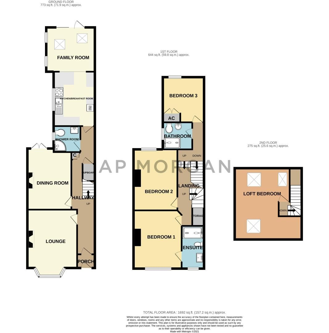 4 bed house for sale in Stourbridge Road - Property Floorplan
