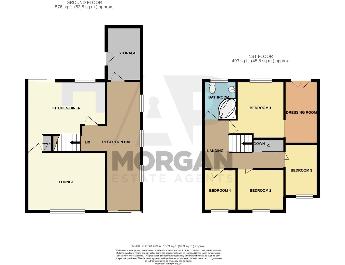 4 bed house for sale in Sandringham Road - Property Floorplan