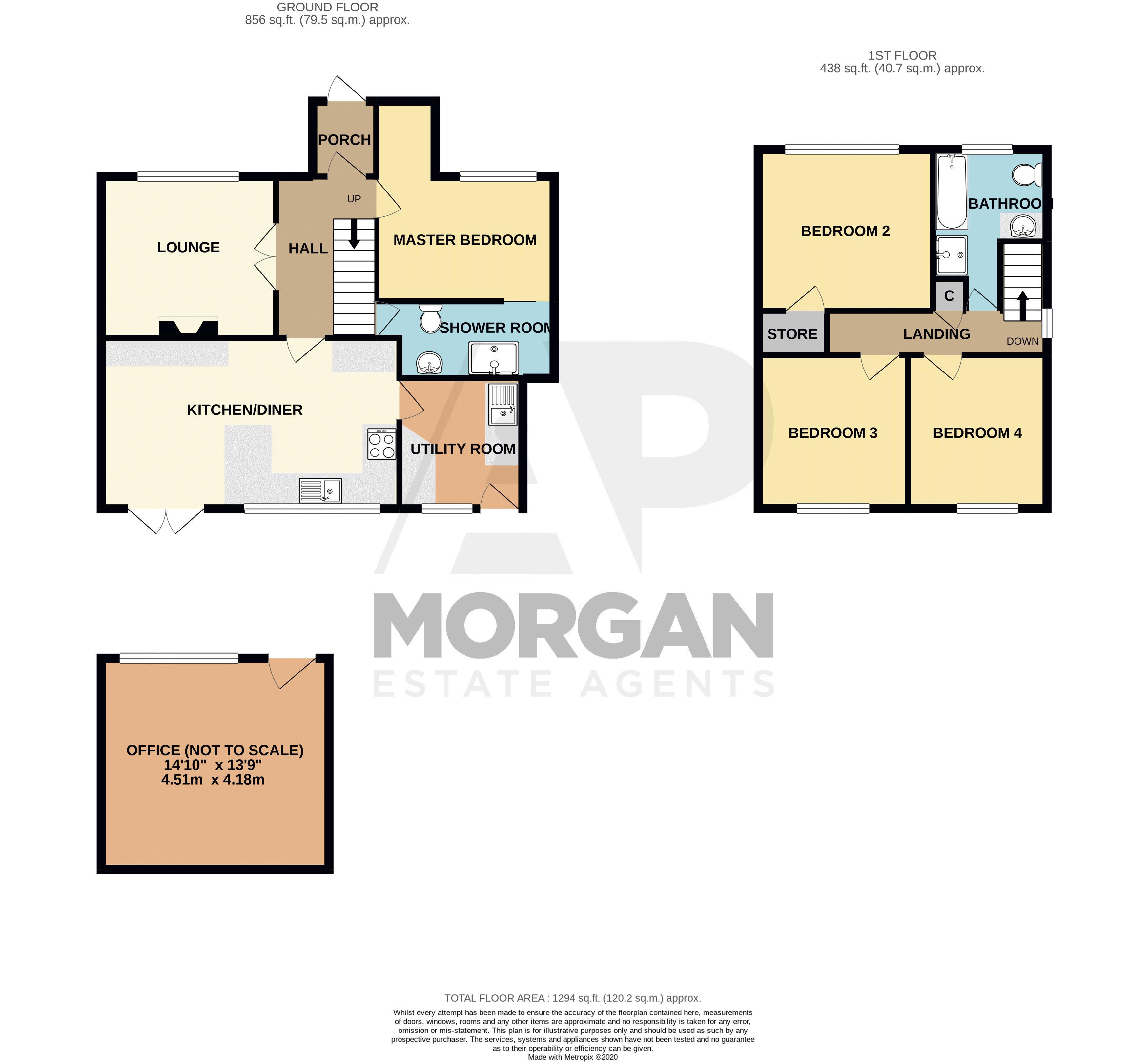 4 bed house for sale in Birmingham Road - Property Floorplan