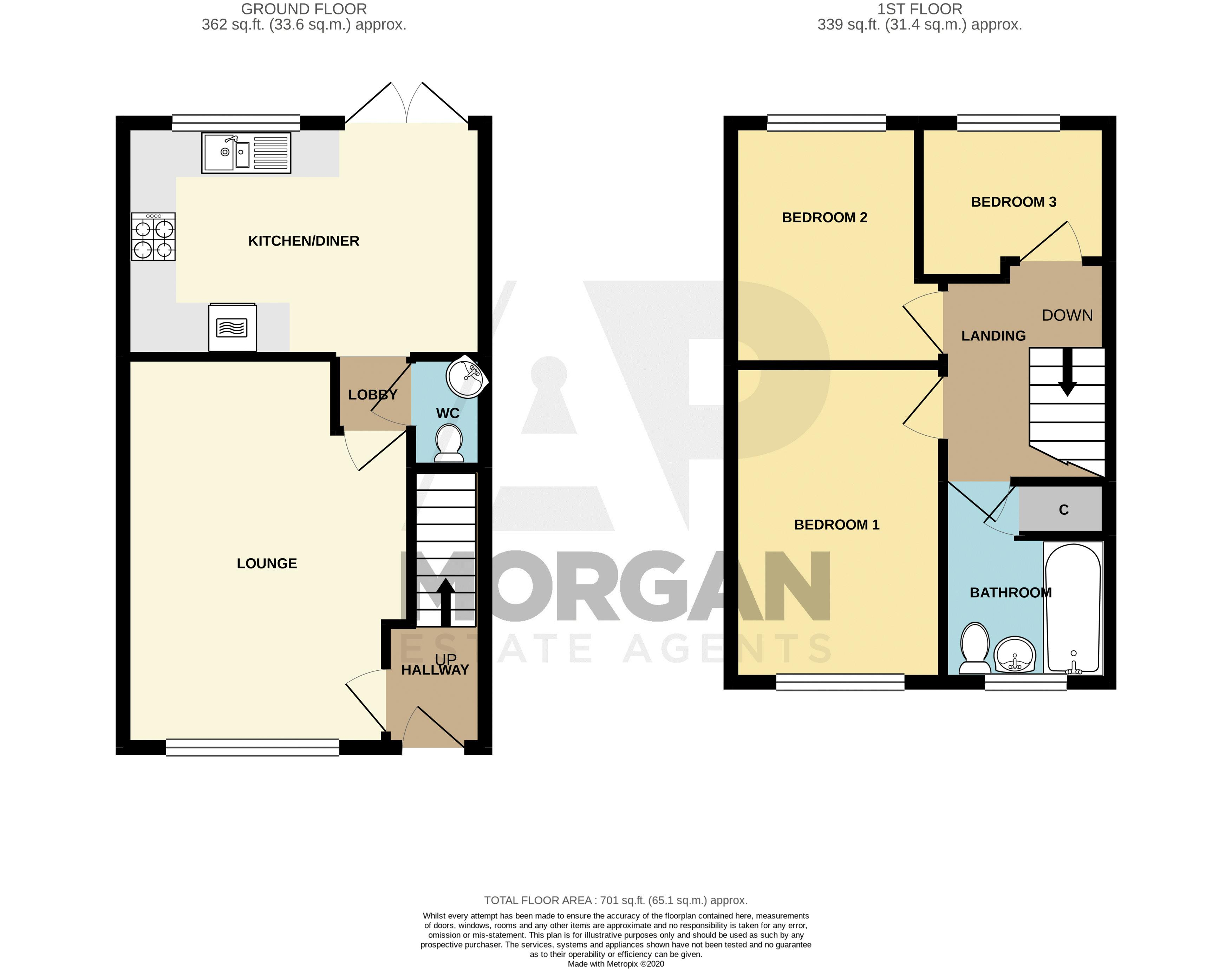 3 bed house for sale in Bhullar Way - Property Floorplan