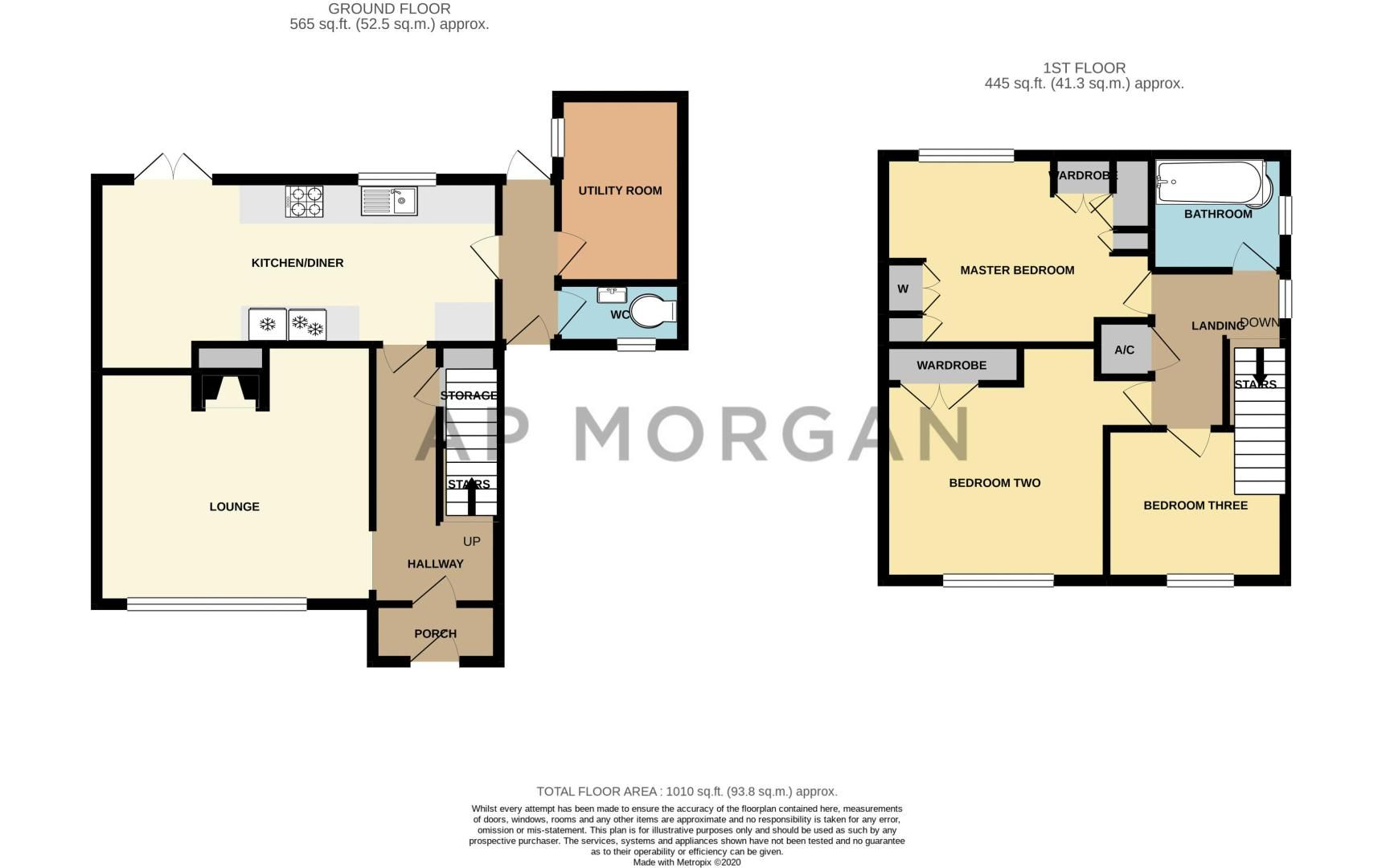 3 bed house for sale in Hawthorn Road - Property Floorplan
