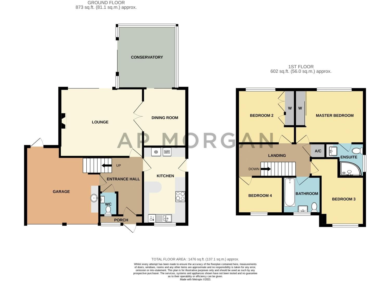 4 bed house for sale in Hither Green Lane - Property Floorplan