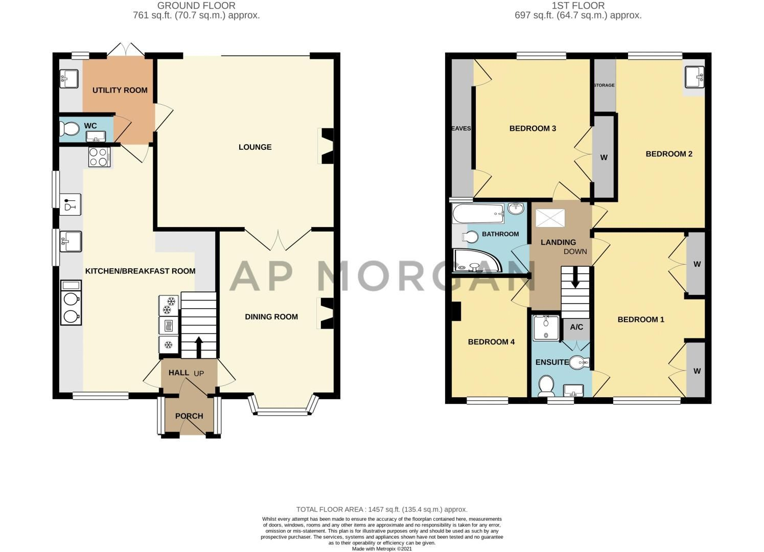 4 bed house for sale in Redditch Road - Property Floorplan