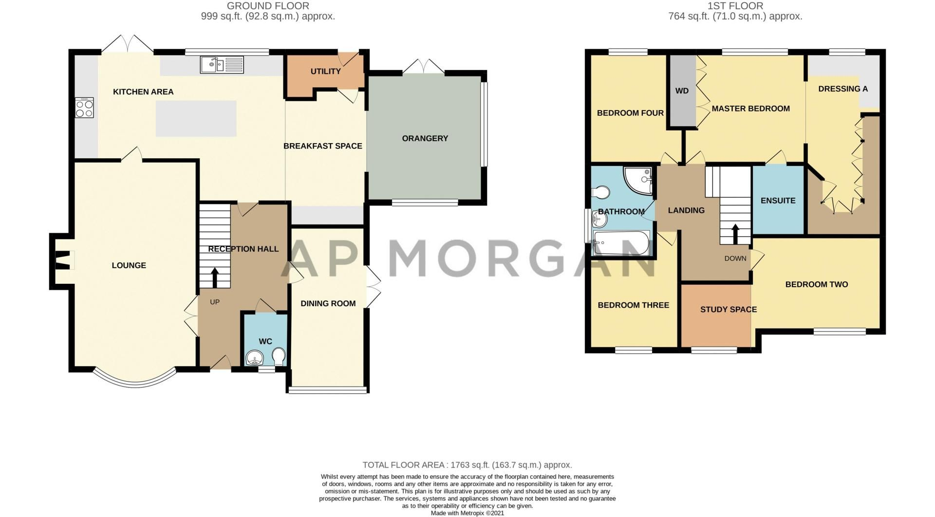 4 bed house for sale in Church Down Close - Property Floorplan