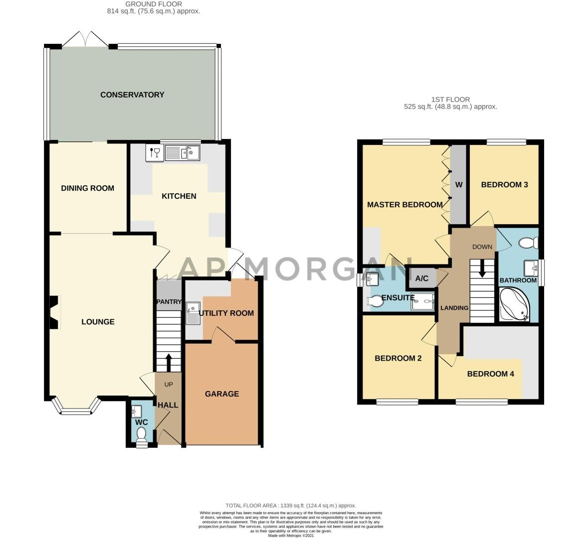 4 bed house for sale in Shirehampton Close - Property Floorplan